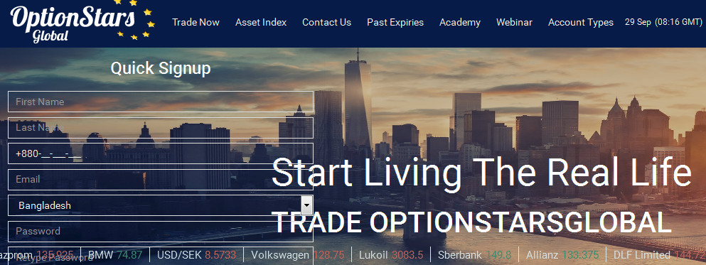 Binary options live webinars