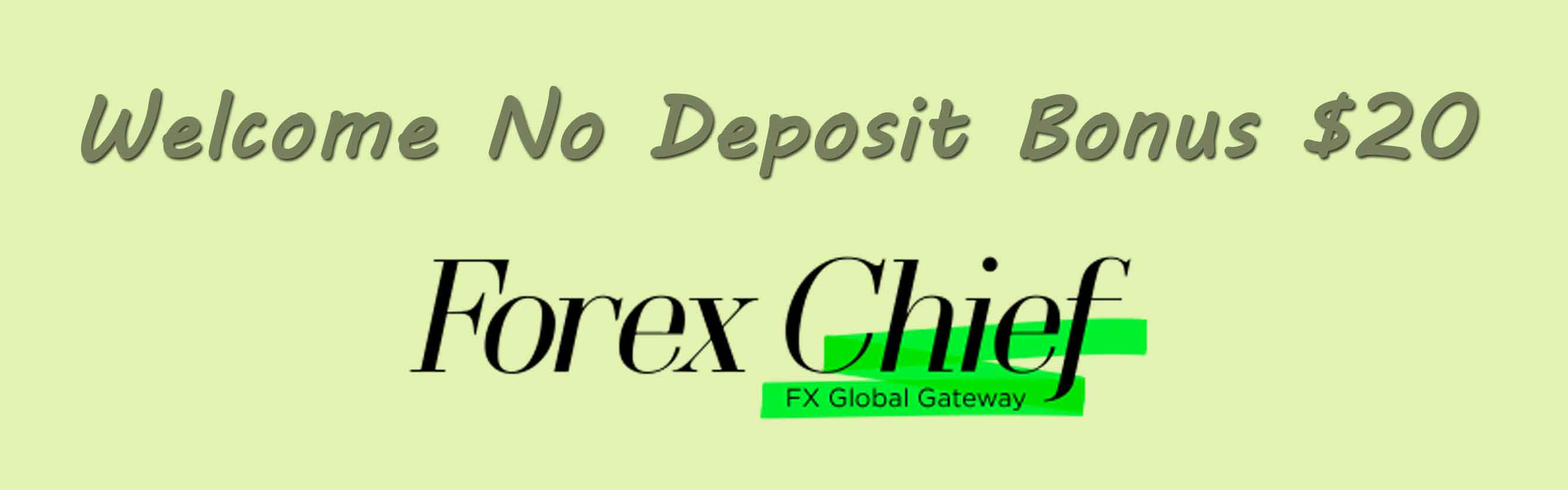 Forex bonus without deposit