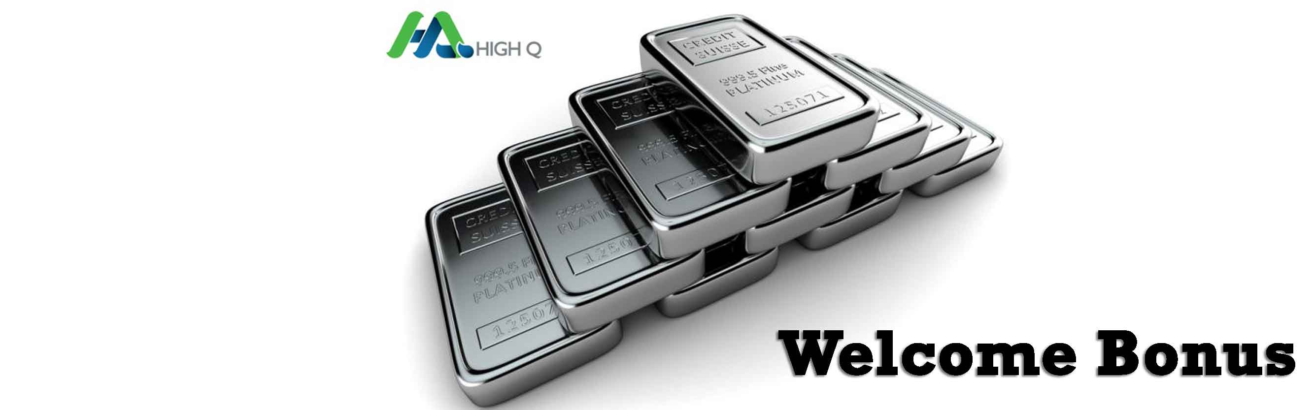 HighQ FX Welcome Bonus