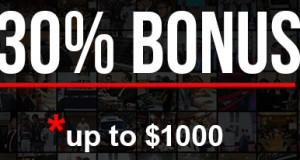 Forex welcome Bonus 30% On Deposit