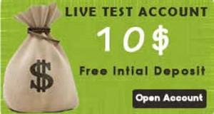 $10 No Deposit Welcome Forex bonus