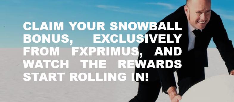 Forex 50% SNOWBALL BONUS