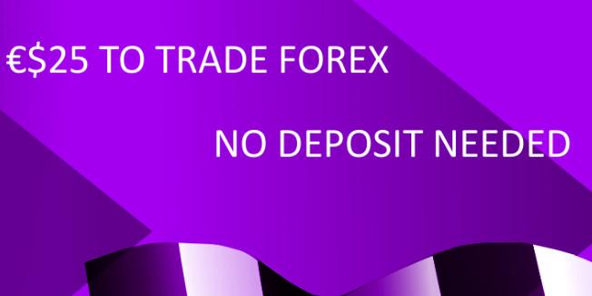Forex $25 No-Deposit Bonus