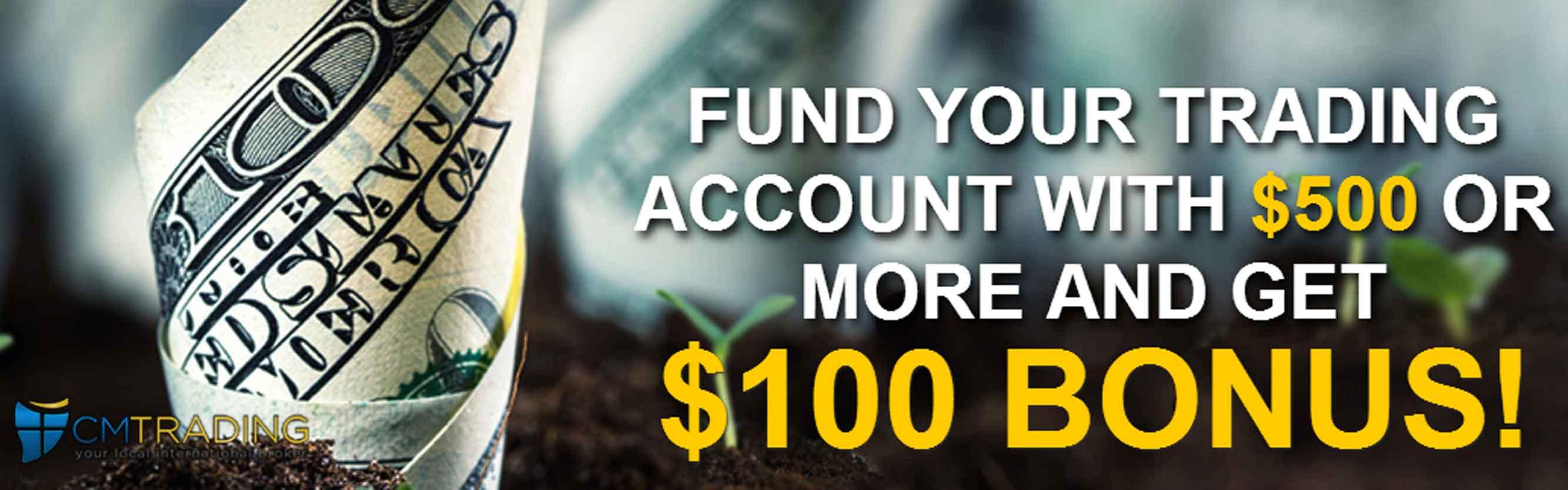 cmtrading deposit bonus