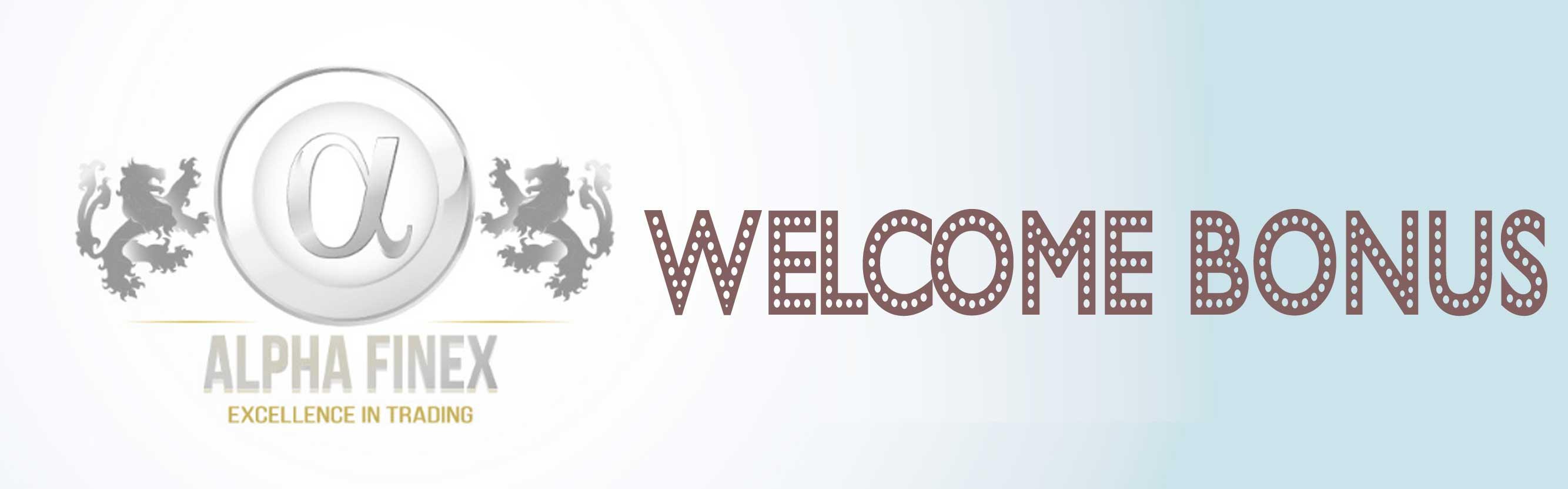 AlphaFinex Welcome Bonus