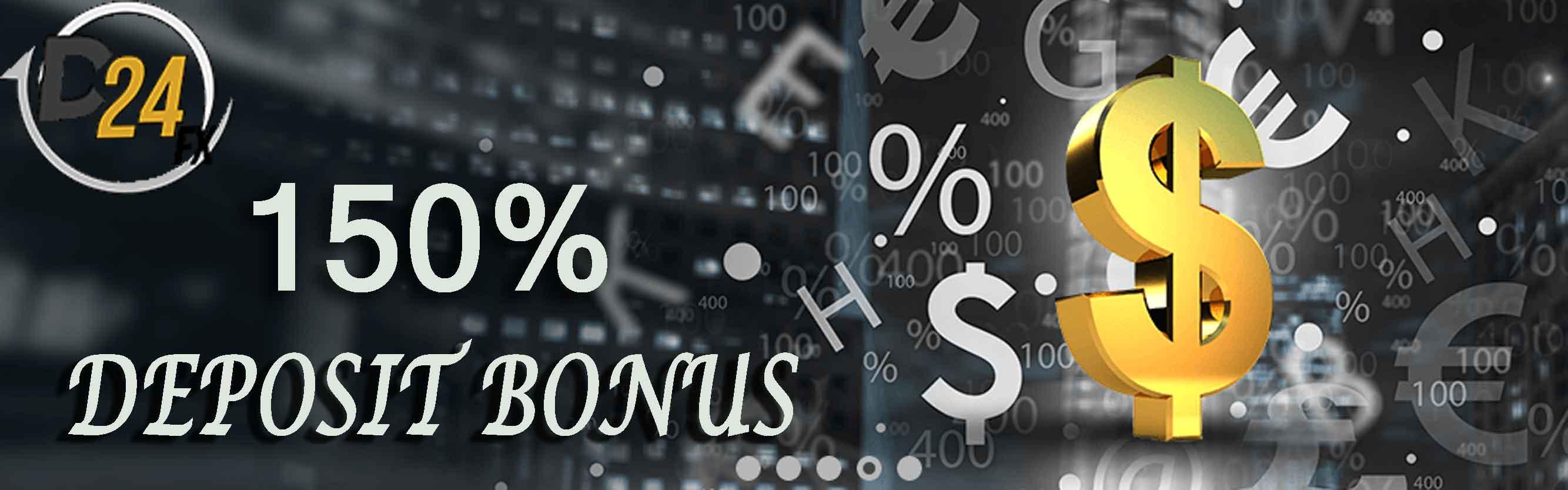 D24FX Deposit Bonus