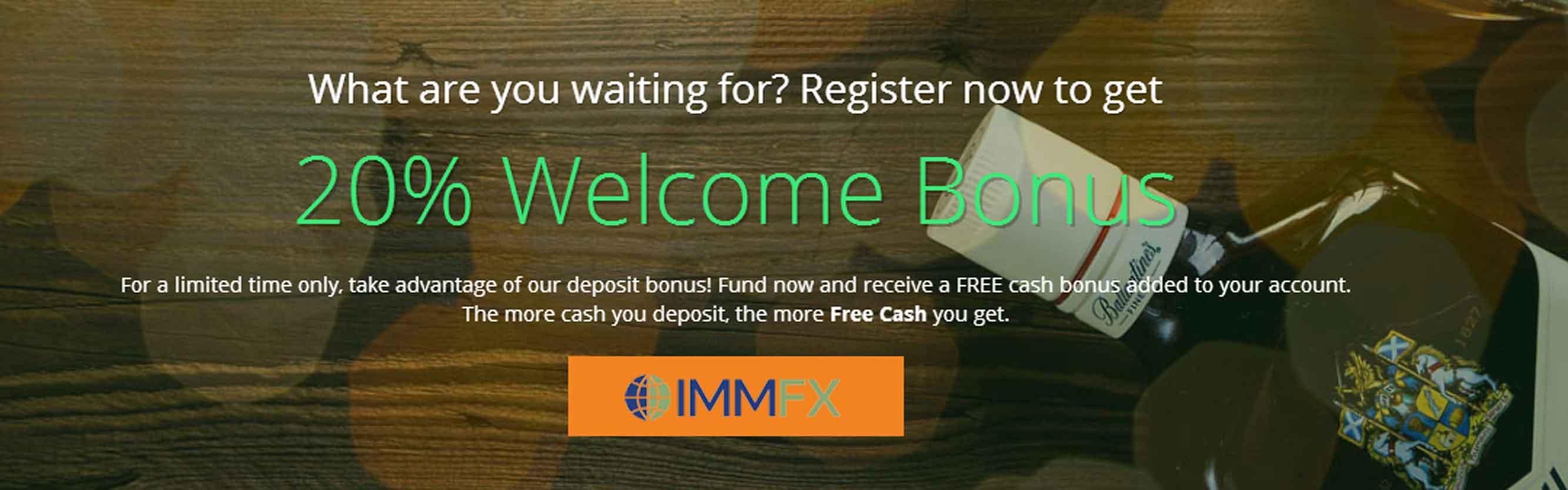 immfx deposit bonus